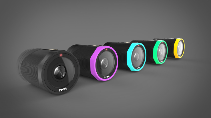 The REVL Arc is a 4K smart action camera with a built-in gimbal