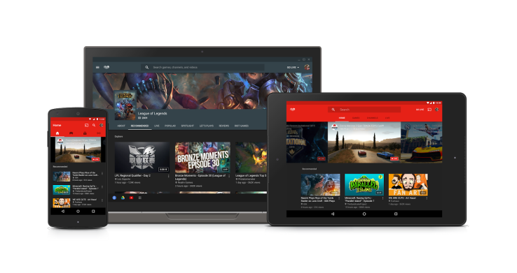 YouTube Gaming expands to new markets, improves its browsing and viewing experience on mobile