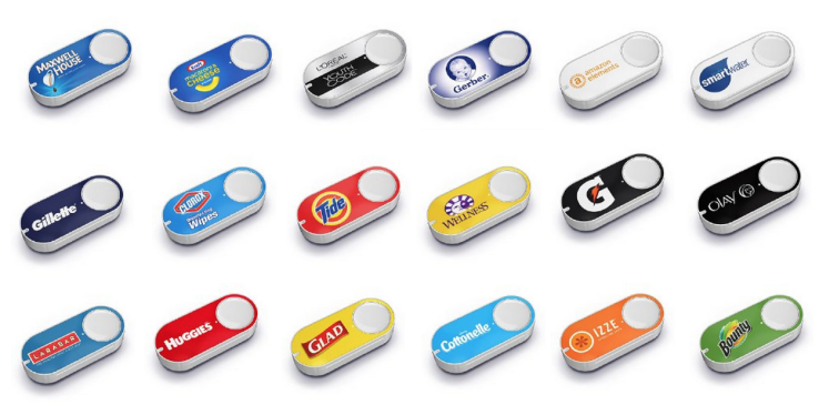 Amazon expands Dash Button line-up, top sellers to date include Tide, Bounty, Cottonelle