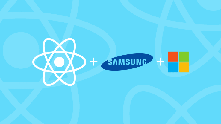 Facebook's React Native gets backing from Microsoft and Samsung