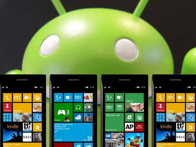 Android sales surge – at the expense of Windows Phone and iOS