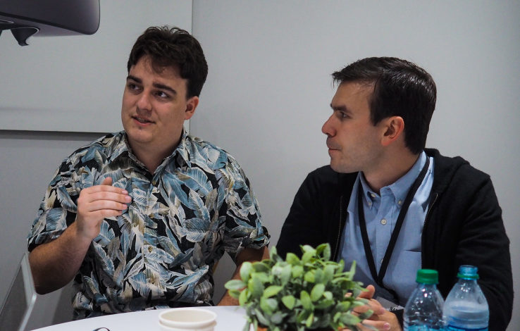 Oculus co-founders Palmer Luckey and Nate Mitchell on the state of VR