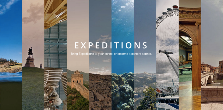 Google for Education partners with TES to expand the reach of VR Expeditions content in classrooms