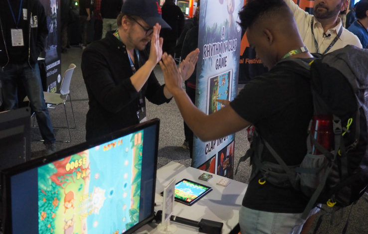 Indie developers ditch controllers for real-life interactions