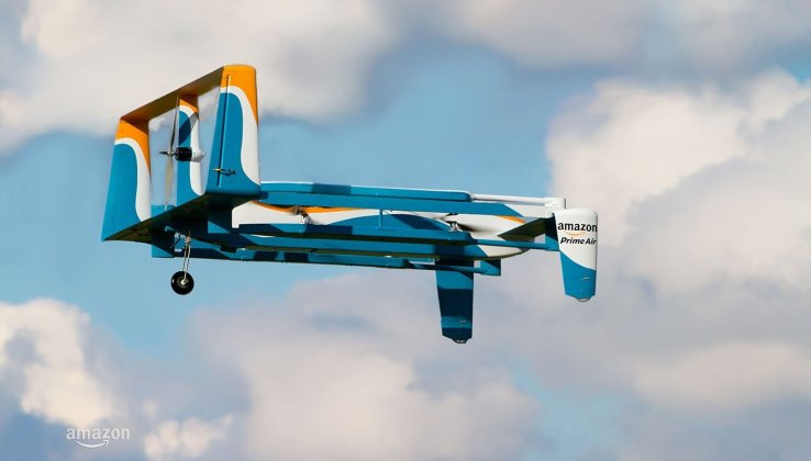 Amazon partners with U.K. government to test its drones