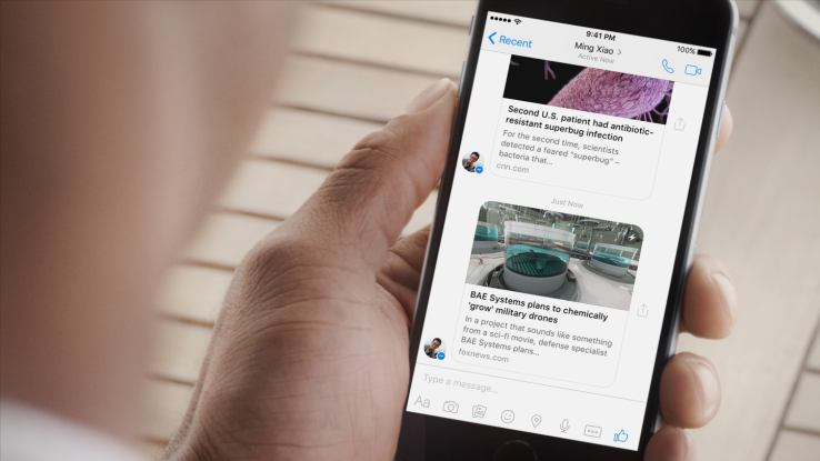 Viewing links shared in Messenger just got easier