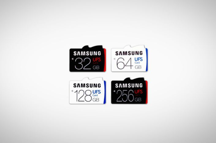 Samsung's new UFS memory cards store up to 256GB at crazy fast transfer speeds