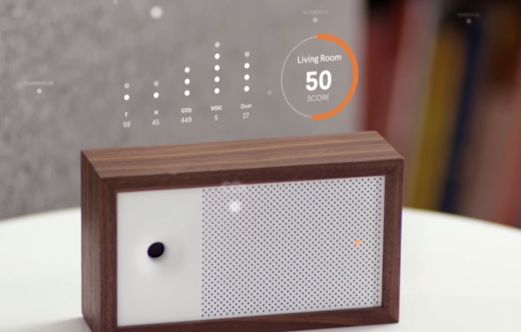Awair air quality monitor teams up with Nest, Amazon Echo and IFTTT