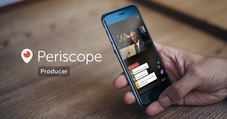 Periscope Producer lets you stream to Twitter from pro cameras, apps, VR