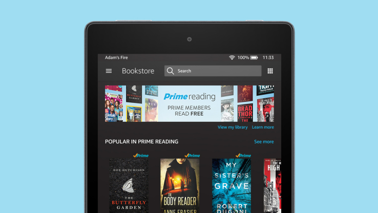 Amazon's new Prime Reading gives Prime members all they can read