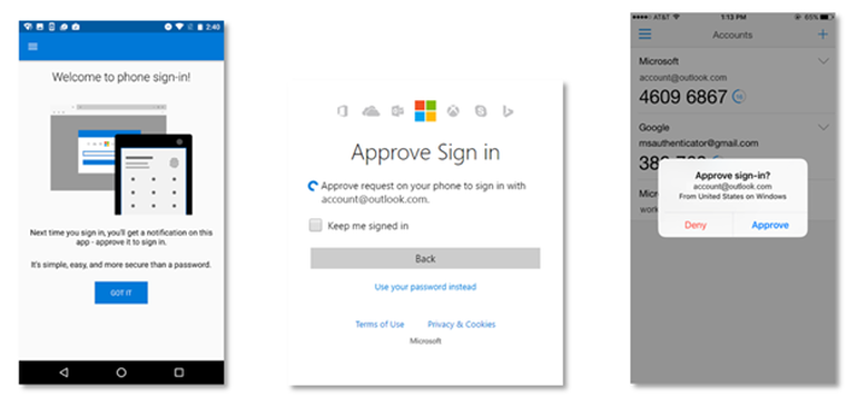 Microsoft kills off passwords with Authenticator's new phone logins