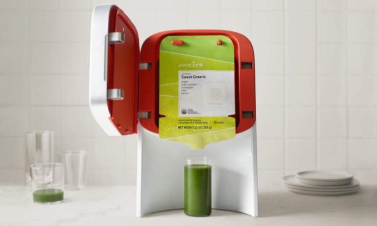 RIP Juicero, the $400 venture-backed juice machine