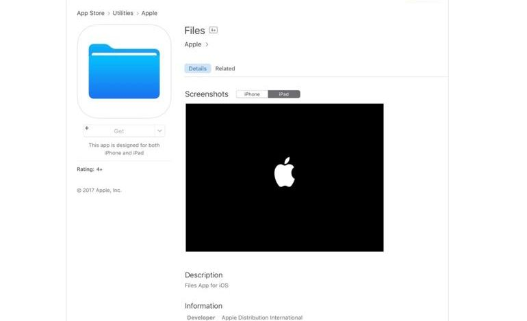 WWDC 2017: Apple leaks details of file manager app iOS 11