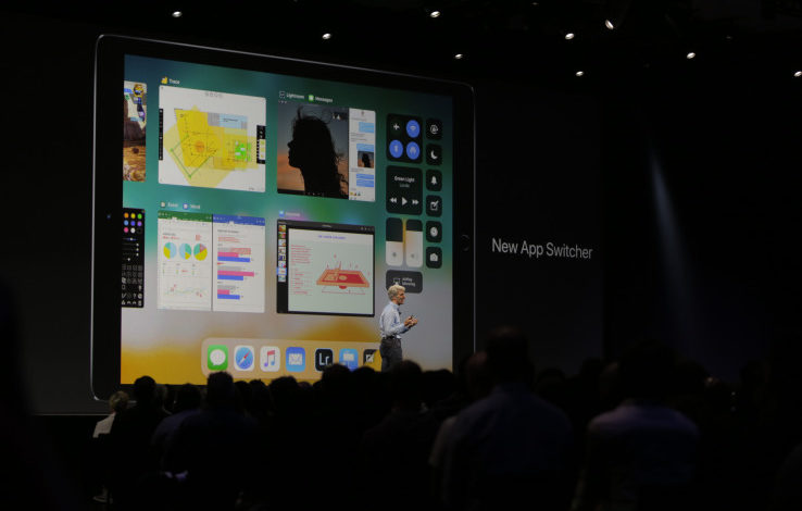 iOS 11 brings drag-and-drop, windows and a file system to iPad