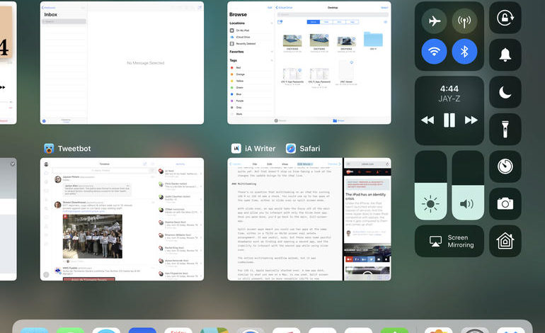 iOS 11 hands-on: Improved multitasking, drag-and-drop support on the iPad Pro