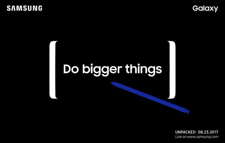 Samsung's Unpacked event happens August 23, likely bringing the Galaxy Note 8 with it
