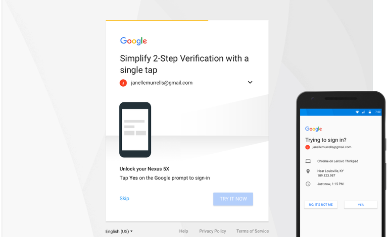 Google wants you to stop using its SMS two-factor sign-in