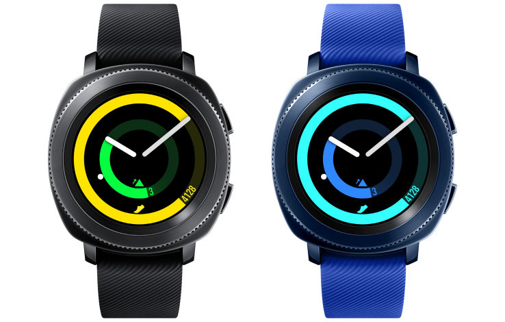 Samsung's fitness-focused Gear Sport smartwatch is a smaller alternative to the giant Gear S3