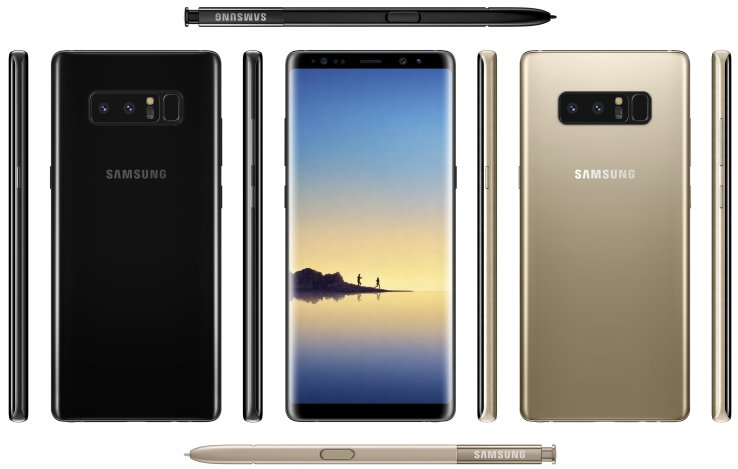 Here's an early look at the Samsung Galaxy Note 8