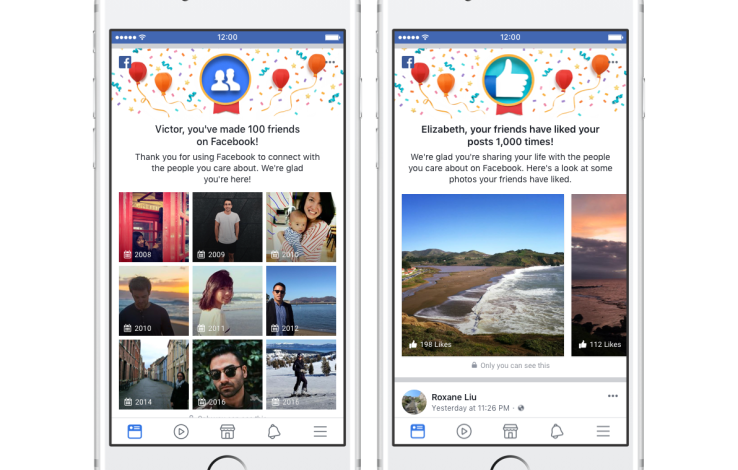 Facebook adds new ways to revisit your memories and milestones
