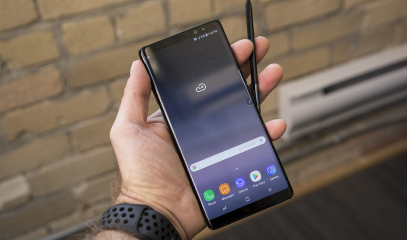 Samsung's Galaxy Note 8 seems like the dream of the phablet realized