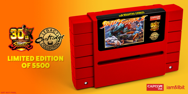 You can now pre-order a brand new, working Street Fighter II SNES cartridge