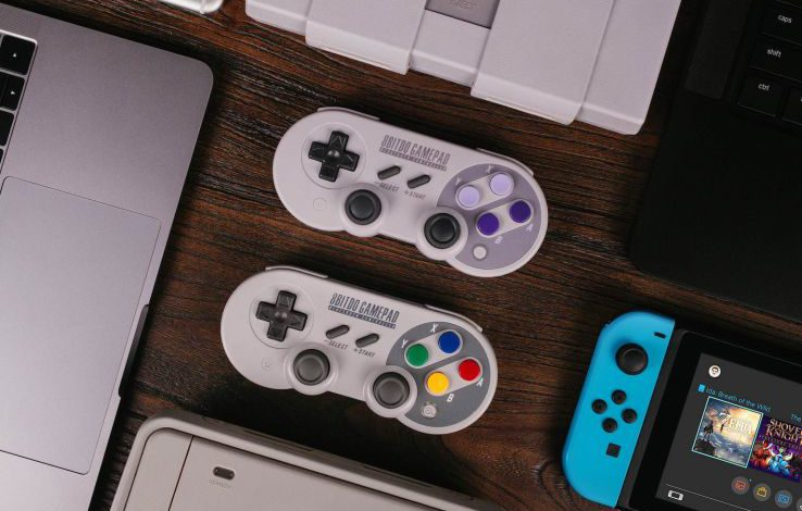 8Bitdo's SN30 Pro and SF30 Pro controllers available for pre-order