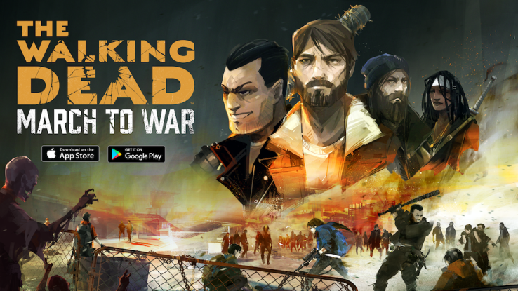 Disruptor Beam's 'Walking Dead: March to War' puts you in the middle of a zombified Washington, D.C.