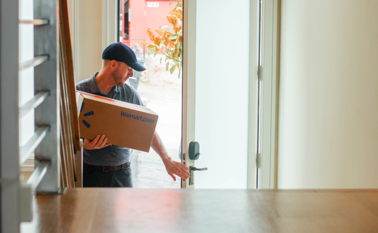 Walmart partners with smart lock maker August to test in-home delivery of packages and groceries