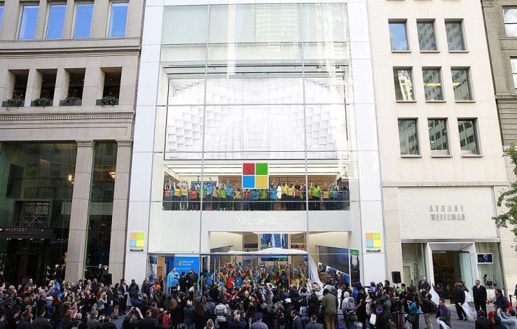 Microsoft confirms plans for a new flagship store in Regent Street opposite Apple