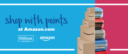Amazon now lets Hilton Honors members shop with Points