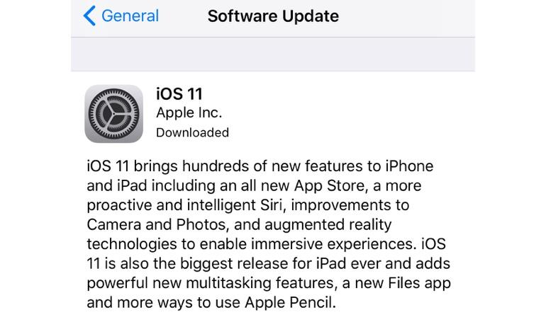 Here's how you can get iOS 11 now