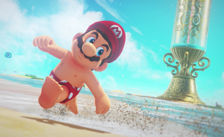 Nintendo offers new Super Mario Odyssey details and demo of Square's intriguing 'Project Octopath Traveler'
