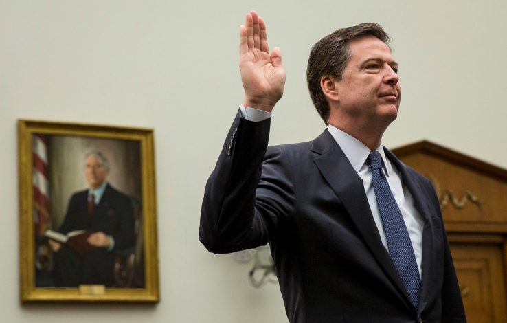 James Comey changes his Twitter handle to @Comey