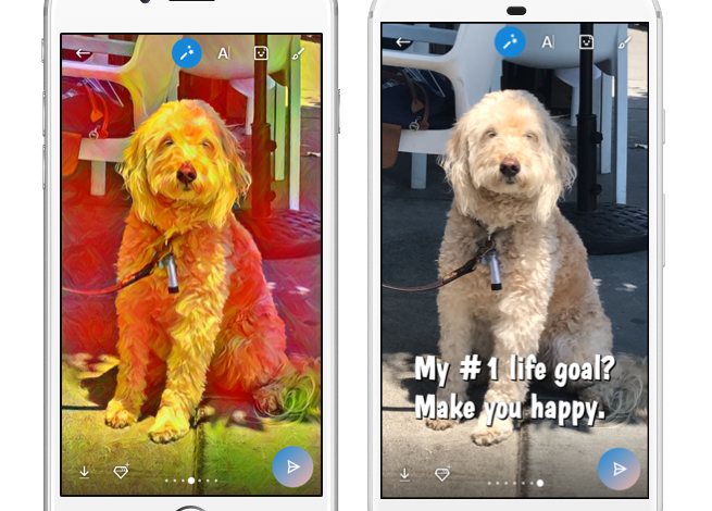 Skype launches Photo Effects – sticker suggestions powered by machine learning