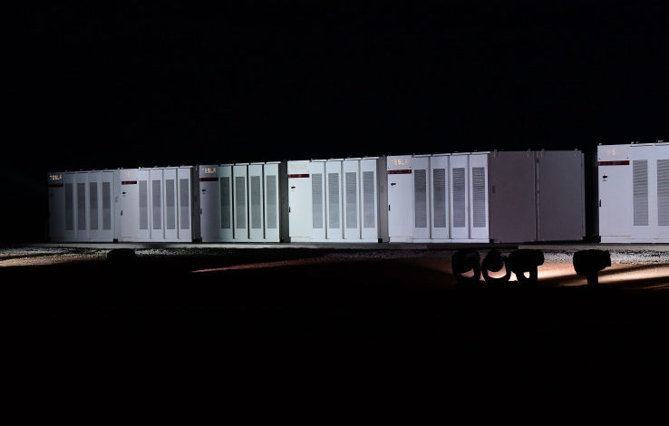 Tesla completes the world's largest battery for Australian wind farm