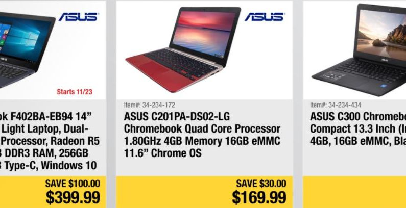 Newegg releases 2017 Black Friday ad with laptop, desktop PC, tablet deals