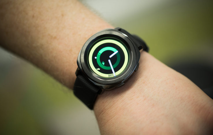 Smaller is better with Samsung's Gear Sport smartwatch