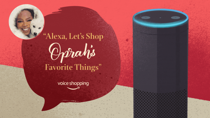 Alexa gets its first celeb voice with Oprah, but it's just a holiday promo
