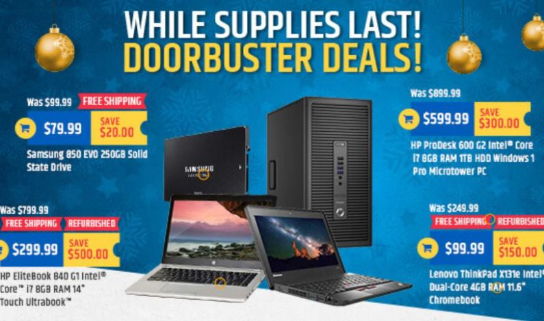 TigerDirect Black Friday ad features handful of laptop, desktop deals