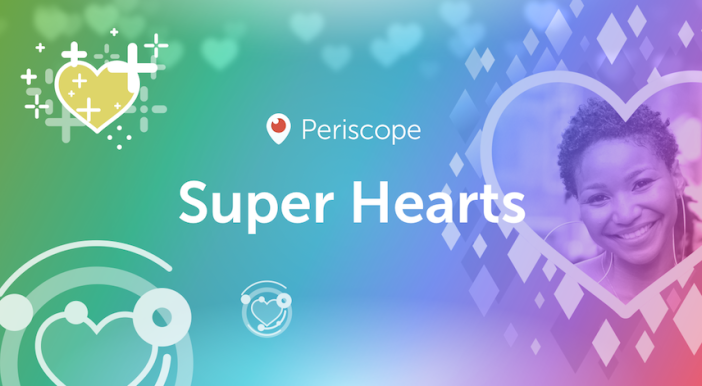 Periscope expands virtual tipping via Super Hearts beyond the U.S.