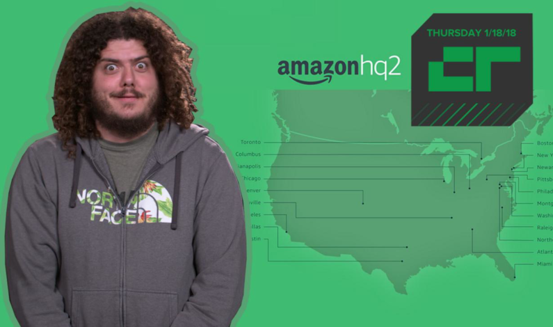 Crunch Report | Amazon reveals 20 finalists for second HQ