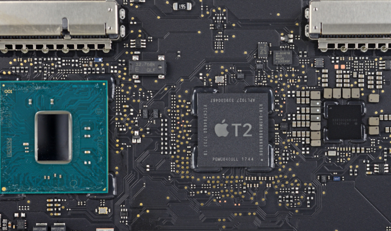 Apple adding its own co-processors to three Macs in 2018, Bloomberg reports