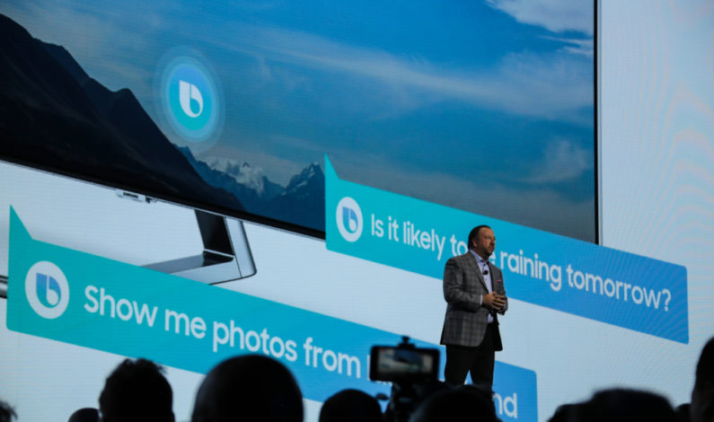 Samsung will add Bixby to its 2018 smart TVs