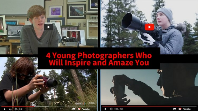 4 Young Photographers Who Will Inspire and Amaze You