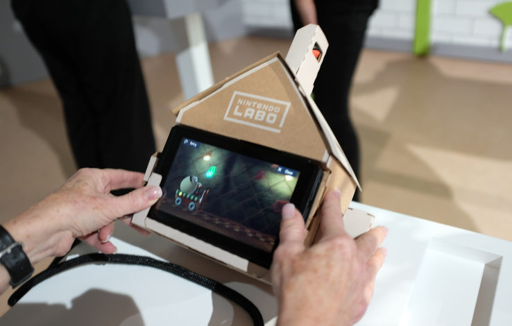 Nintendo will let you hack your Labo creations with Toy Con Garage feature