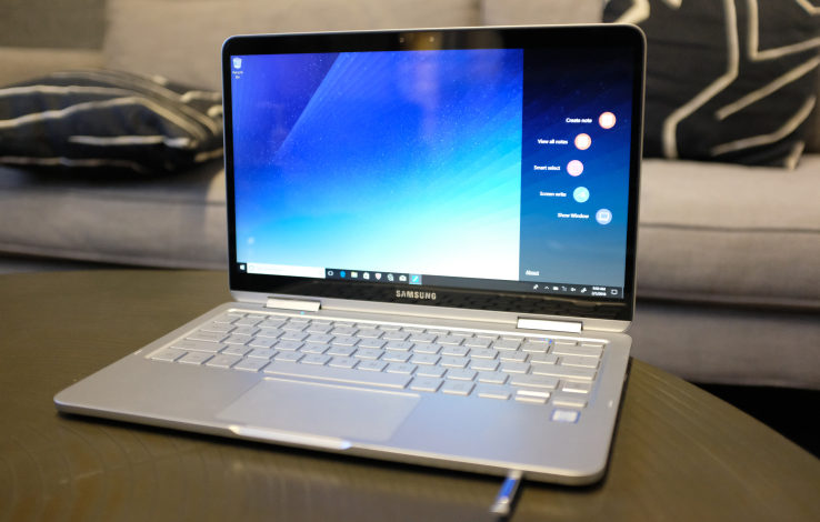 Samsung's Notebook 9 Pen is a reasonably capable convertible