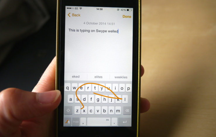 Nuance ends development of the Swype keyboard apps