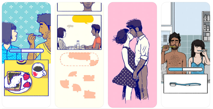 Florence invites you into an interactive graphic novel about finding love (and losing it)