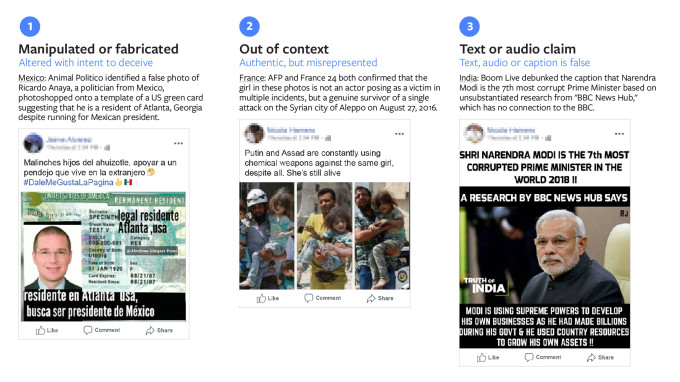 Facebook rolls out photo/video fact checking so partners can train its AI